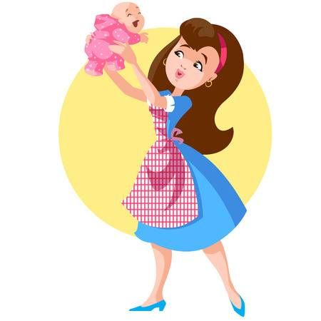 3,023 Nanny Stock Vector Illustration And Royalty Free Nanny Clipart.