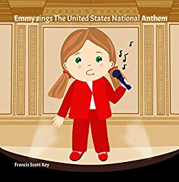 Emmy sings the United States National Anthem.