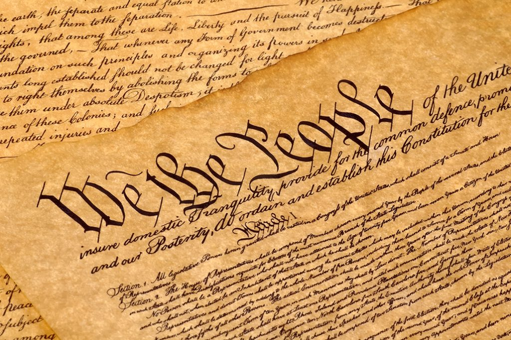 Constitution clipart declared, Constitution declared.