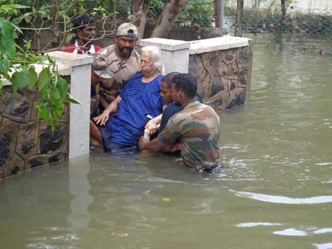 Chennai Floods: National Disaster Response Force Uses.