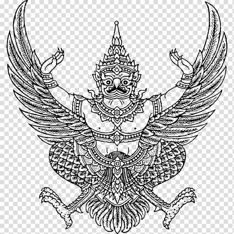 Emblem of Thailand Garuda National emblem Coat of arms.