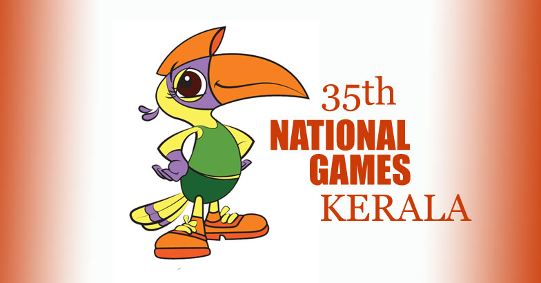 National Games; Kerala women athletes lead Kerala to the third.