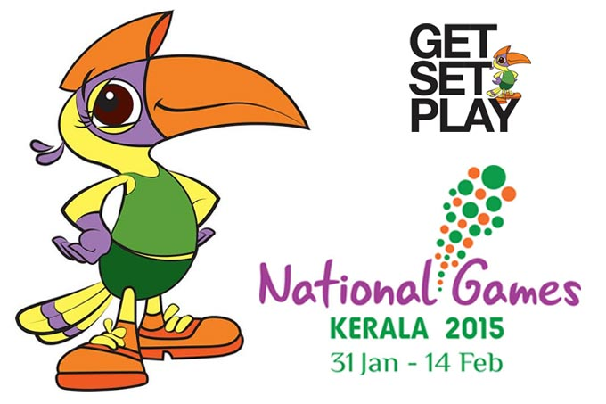National Games 2015 Kerala.