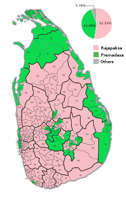 2019 Sri Lankan presidential election.
