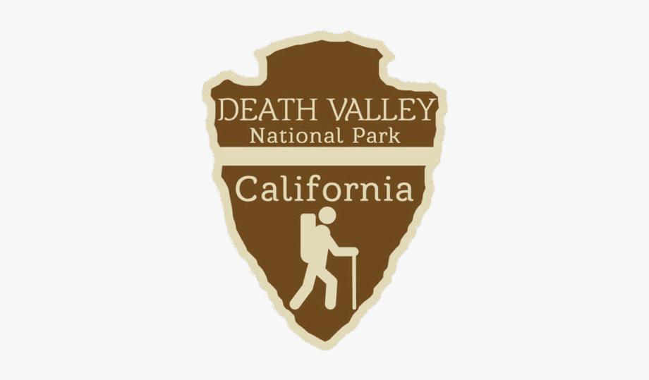 Svg Black And White Download Death National Park Logo.