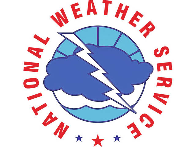 Strong winds but no tornado, says weather service.