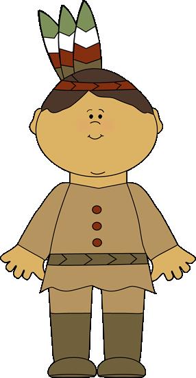 Native American Indian Boy.