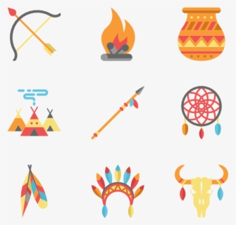 Free Native American Clip Art with No Background.