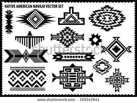 Native American Pattern Clipart.
