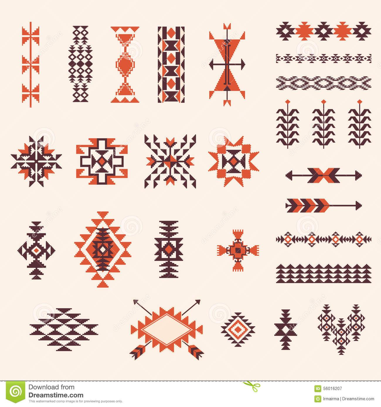 Native Design Clipart.