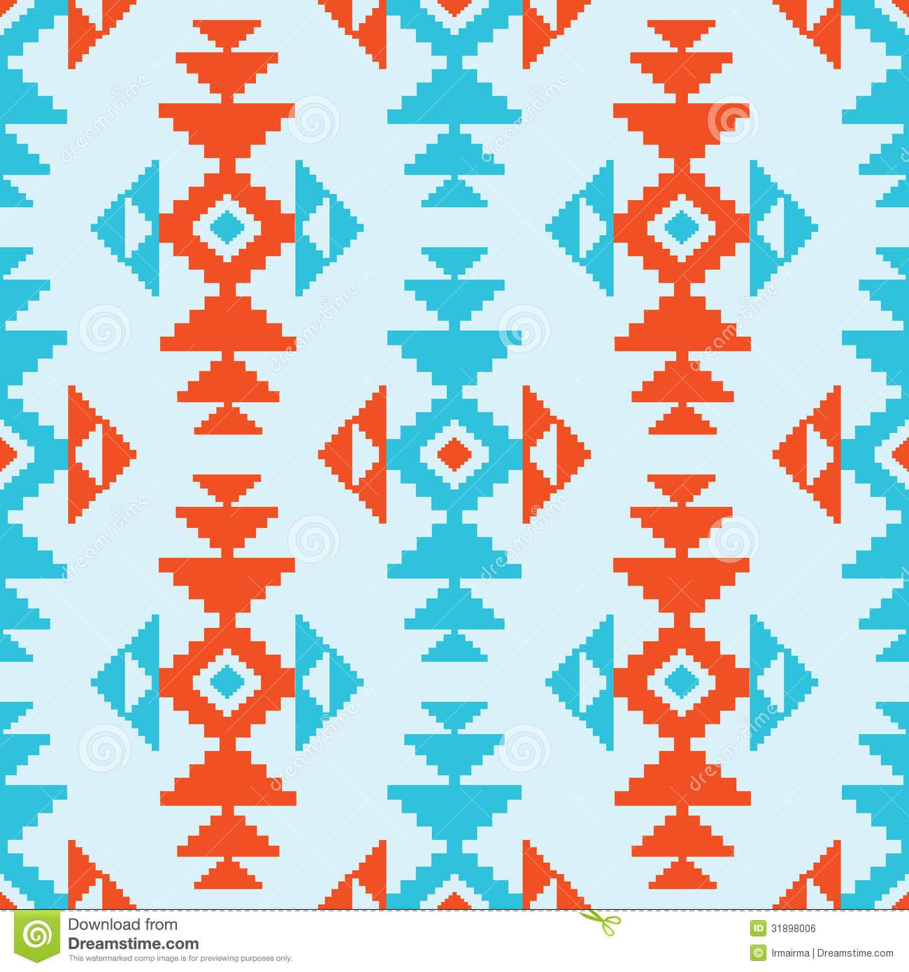 American Indian Patterns Clipart.