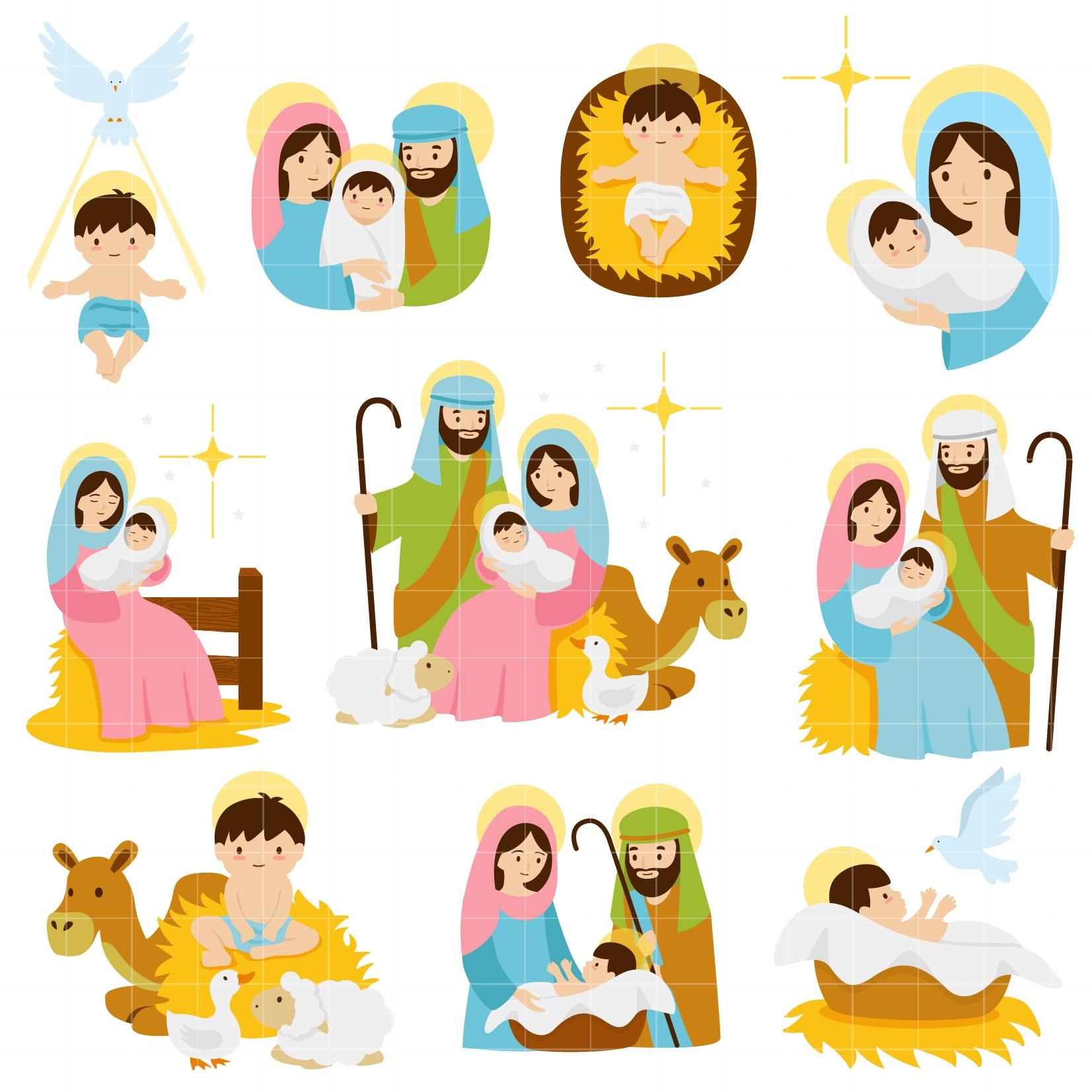 Clipart nativity scenes 7 » Clipart Portal.