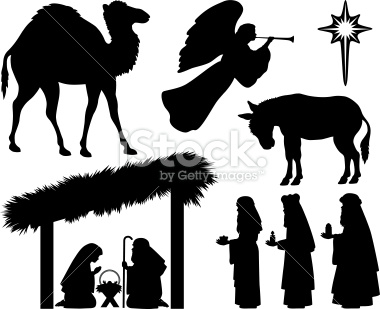 free nativity clipart silhouette banner 20 free Cliparts ...