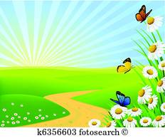 Nature Clip Art Vectors.