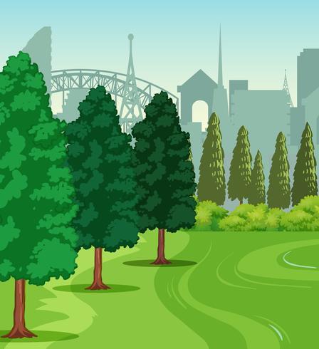 A nature park scene.