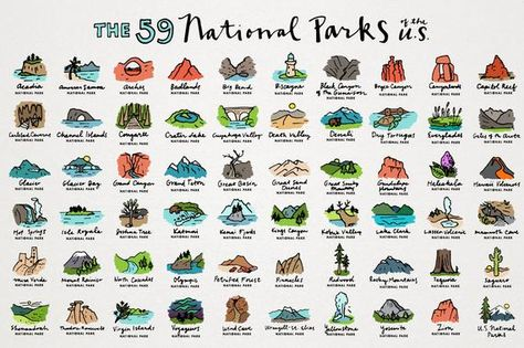 National Parks Clipart.