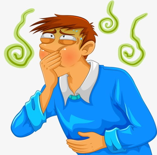 Nausea PNG clipart.