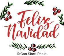 Feliz navidad Illustrations, Graphics & Clipart.