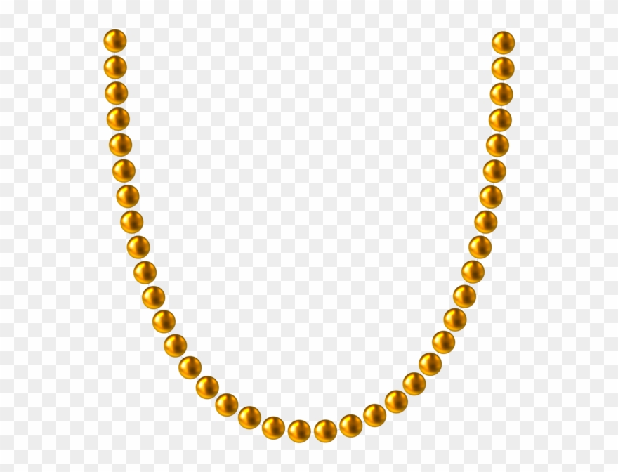 Banner Library Library Bead Necklace Clipart.