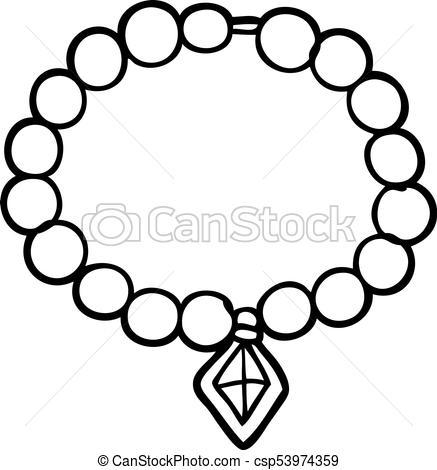 Pearl necklace clipart black and white 2 » Clipart Portal.