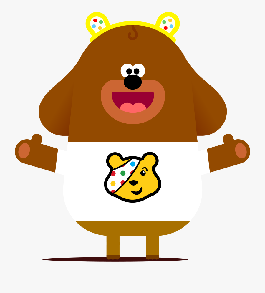 Hey Duggee And Bbc Children In Need Celebrate Partnership.