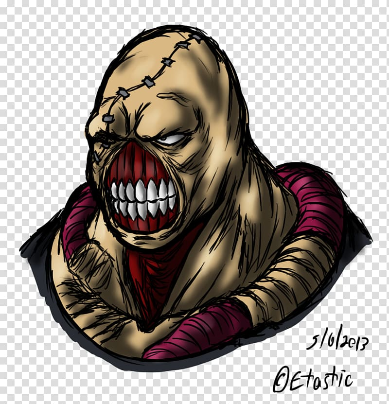 Cartoon Supervillain Legendary creature, Resident Evil 3.