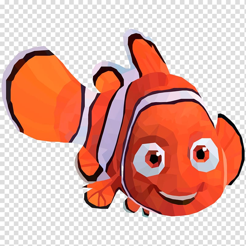 Fish Character Fiction , finding nemo transparent background.