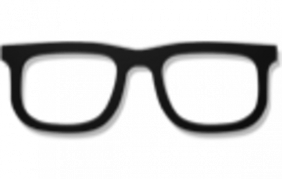 Nerd glasses clip art library 2.