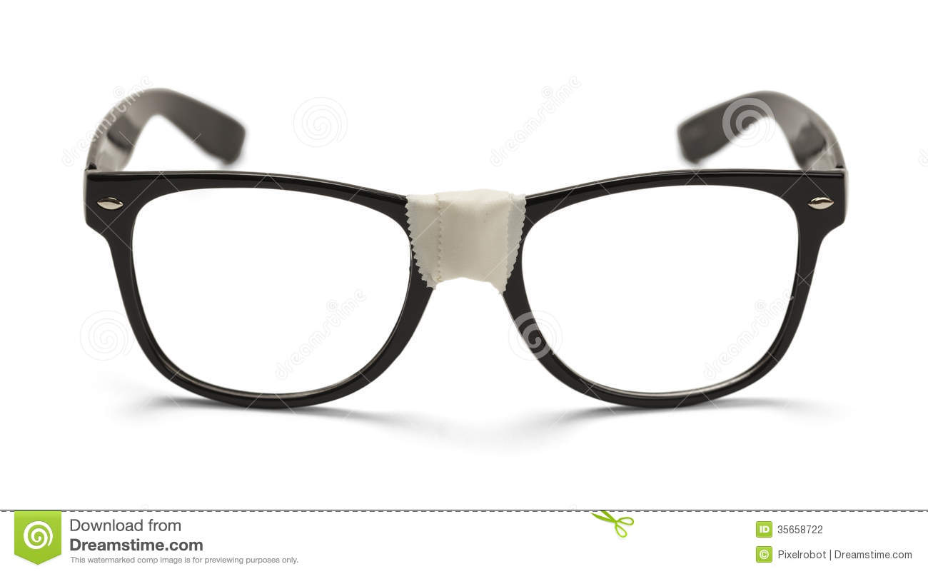 Nerd Glasses Clipart.