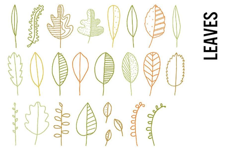 Leaves Clip Art.