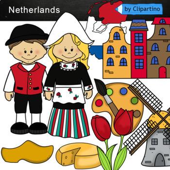 Netherlands Clipart.
