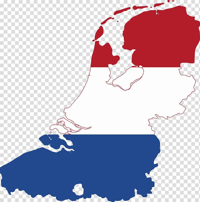 Flag of the Netherlands Flanders Greater Netherlands Map.