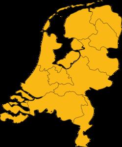 Netherlands Map Clip Art at Clker.com.