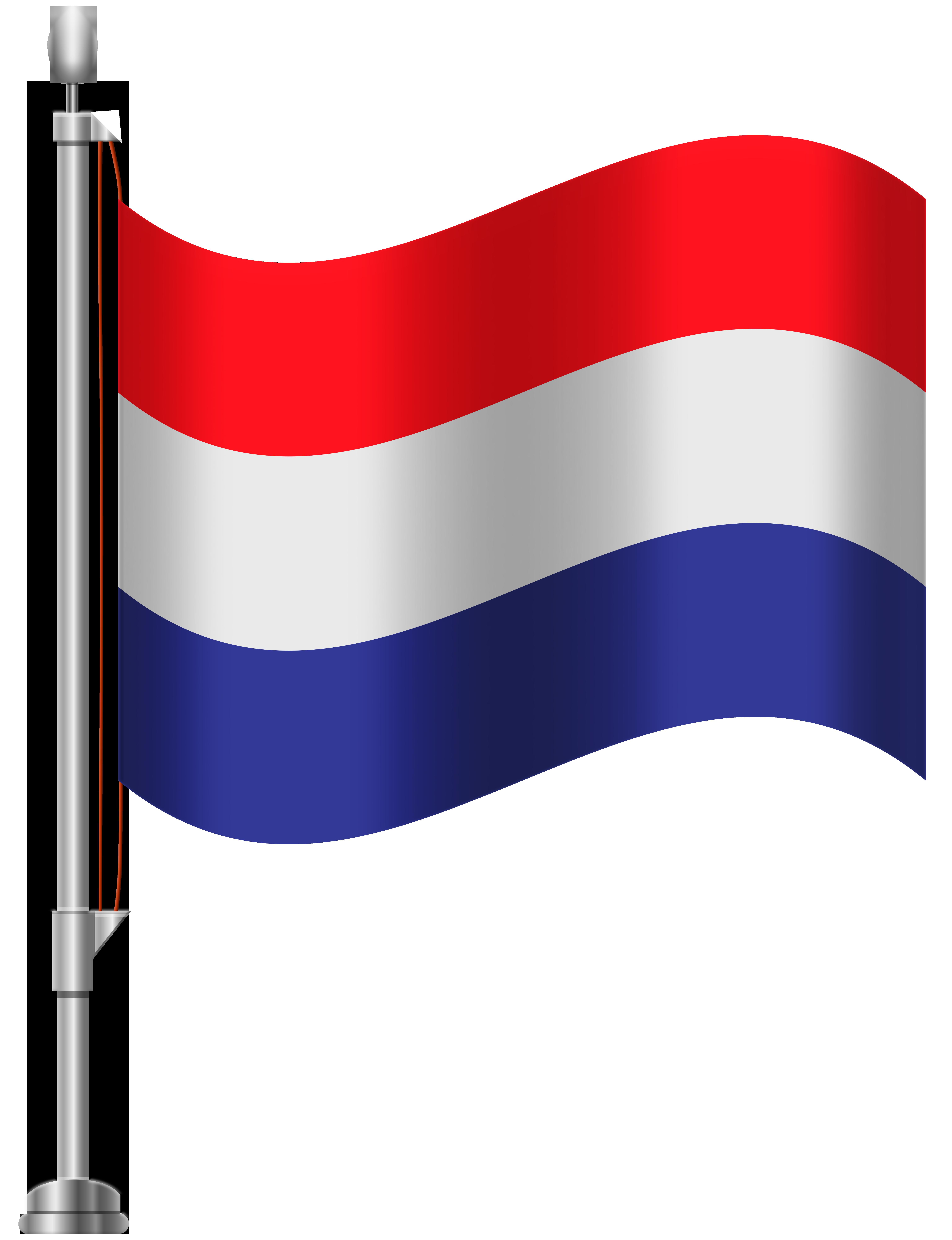 Netherlands Flag PNG Clip Art.