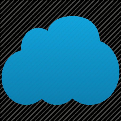 Cloud Computing Icon clipart.