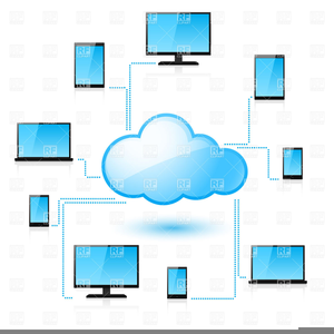Clipart Network Cloud Computing.