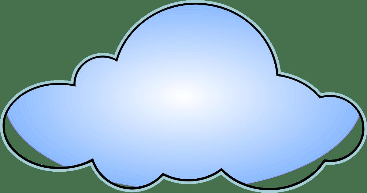 Network cloud clipart 5 » Clipart Portal.
