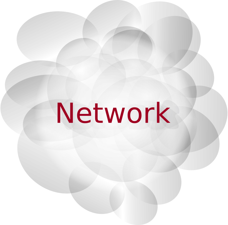 Free Clipart: Network cloud.