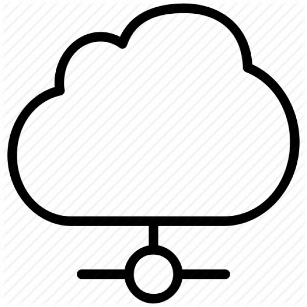 Cloud Network Clipart Images PNG Transparent Vector, Clipart, PSD.