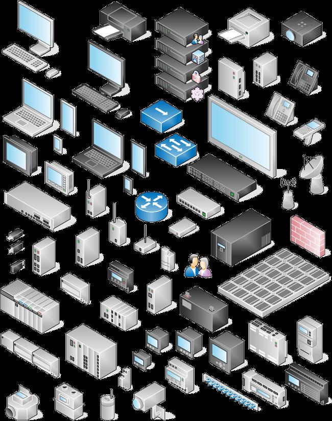 Network Diagram Clipart & Free Clip Art Images #12993.