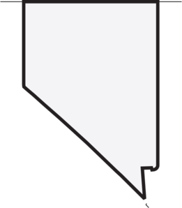 Nevada, Us State, White Clip Art at Clker.com.