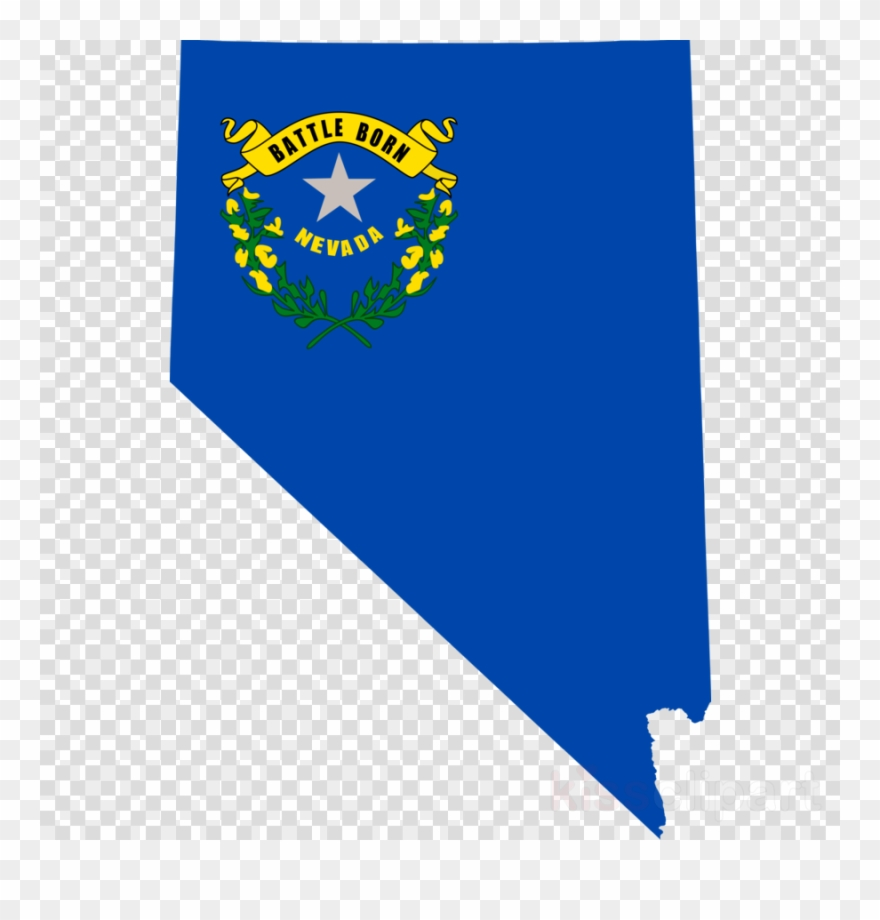 Nevada State Blue Clipart (#2139943).
