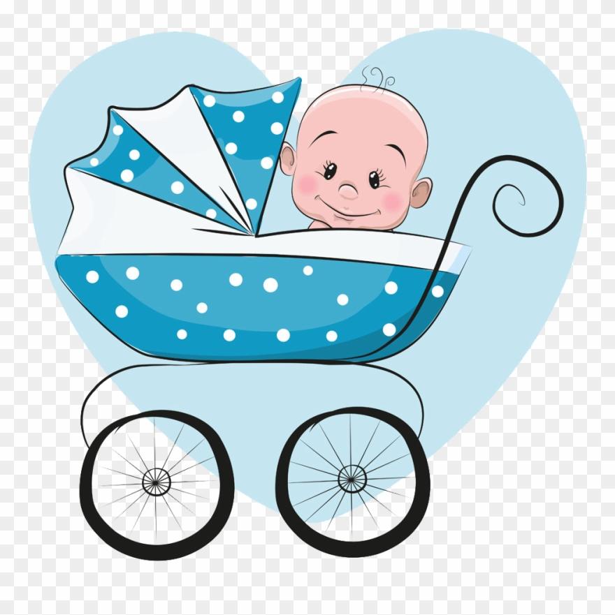 Cartoon Infant Illustration.
