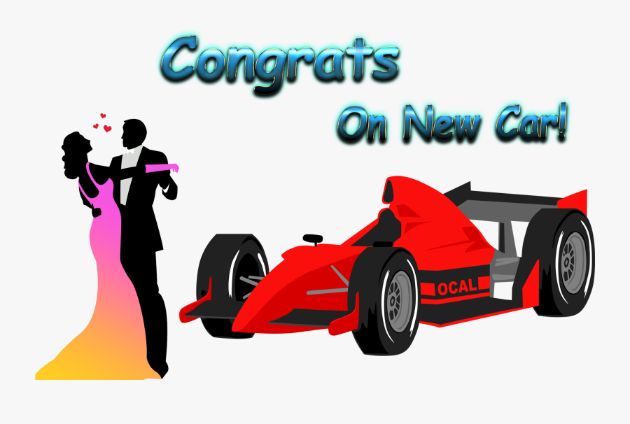 Congrats On New Car Png Clipart.