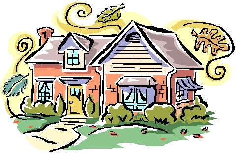 New house clipart clipartxtras 2.