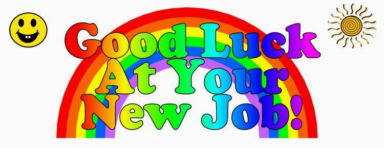 Good Luck On Your New Job Clipart.