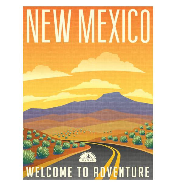 Best New Mexico Illustrations, Royalty.