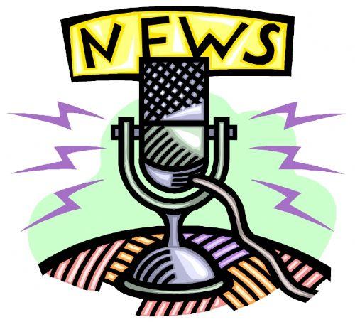 News update clipart.
