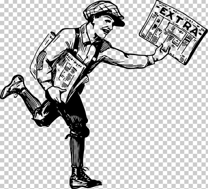 Paperboy PNG, Clipart, Arm, Art, Artwork, Black And White.