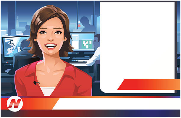 Newscaster clipart 5 » Clipart Station.